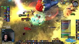Future vs Mythic G'huun - Fire Mage PoV