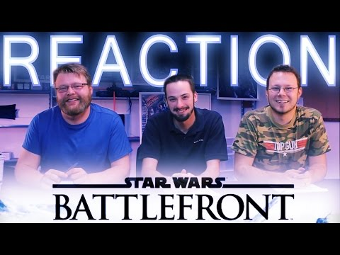 Star Wars Battlefront 3 REACTION Multiplayer Gameplay E3 2015
