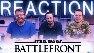 Star Wars Battlefront 3 REACTION Multiplayer Gameplay E3 2015