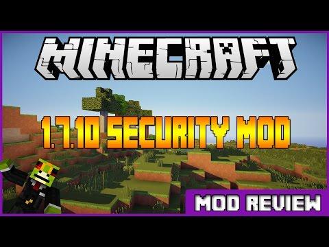 Minecraft 1.7.10 Security Craft |Mod Showcase|