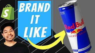 ✅ How To Make A Brand Like Red bull - [ Branded Dropshipping ]