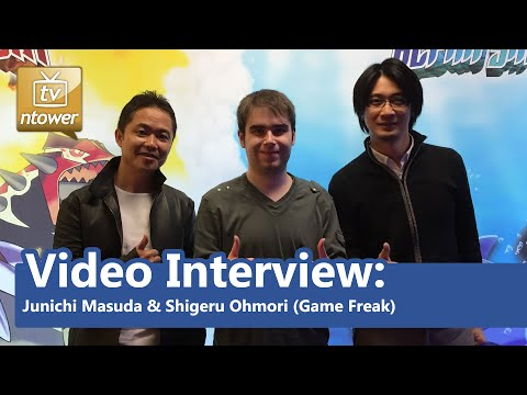 Video Interview: Junichi Masuda & Shigeru Ohmori (Game Freak) - Pokémon Omega Ruby/Alpha Sapphire