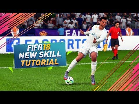 FIFA 18 BEST NEW SKILL MOVE TUTORIAL - HOW TO DO THE NEW SECRET CRUYFF TURN / TIPS & TRICKS