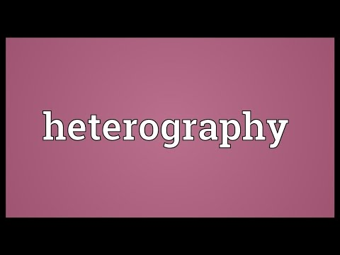 Header of heterography