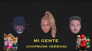 download lagu J Balvin, Beyoncé, Willy William - Mi Gente Chipmunk gratis