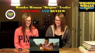 Wonder Woman Origins Trailer Reaction and Review!!