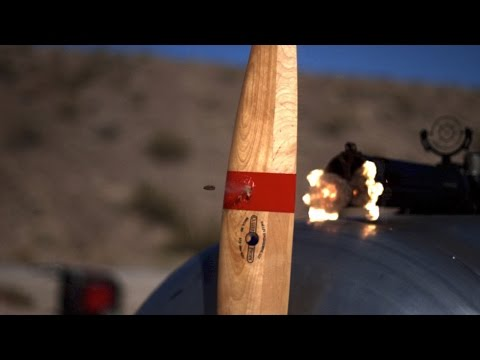 Cover Lagu Bullets vs Propeller in Slow Motion - The Slow Mo Guys