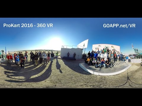 Kuwait - Motocross Tournament 360 VR Video GOAPP.net