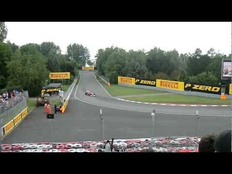 F1 2011 Grand Prix du Canada, Montreal, tribune 33, Ferrari,  Alonso et Massa en qualification