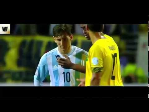 La Selfie de Messi con un Jugador de Jamaica Argentina vs Jamaica 1-0 2015