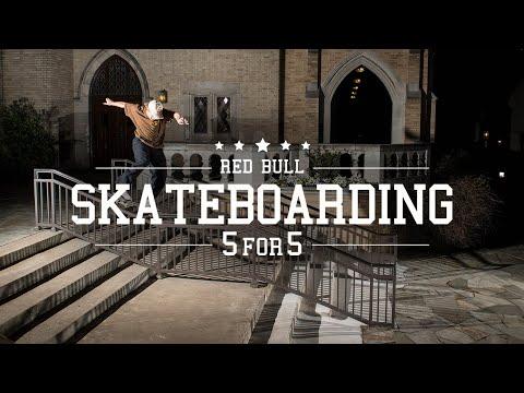 Five Skateboarders, Five Hammers Each | Red Bull Skateboarding 5 for 5