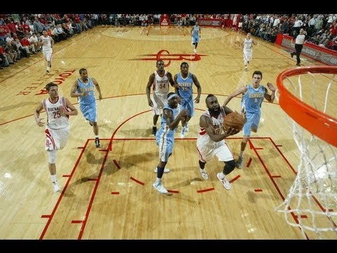 【HD】2012-11-07 Denver Nuggets vs. Houston Rockets Highlights  火箭 vs 金塊  賽事精選