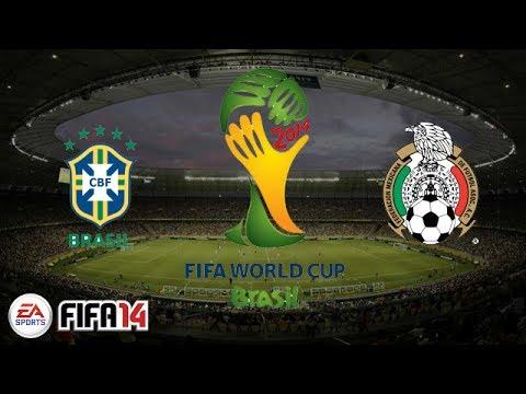 FIFA 14 | Brazil vs. Mexico | World Cup Match 2
