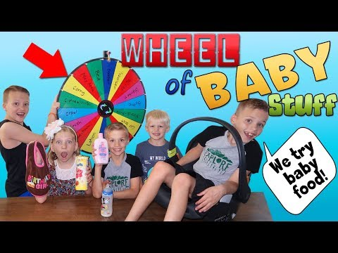 Mystery Wheel Of Baby Brother Stuff