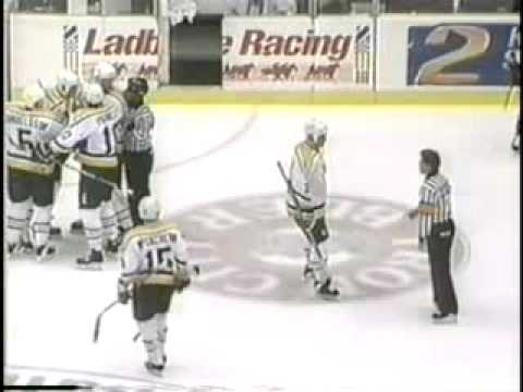 Mario Lemieux vs. Kerry Fraser Video