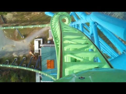 Kingda KA Front Row POV in HD [456 ft] Tallest Roller Coaster on Earth Six Flags Great Adventure