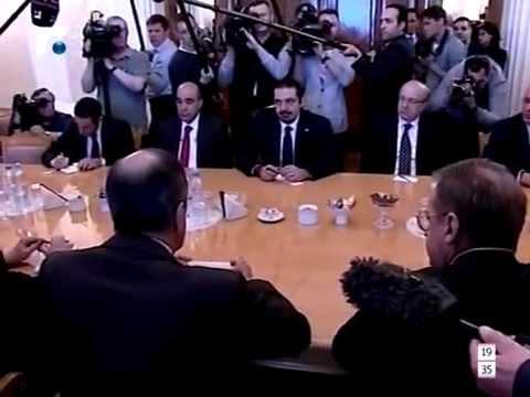 الحريري التقى لافروف: ما يهمنا هو استقرار لبنان