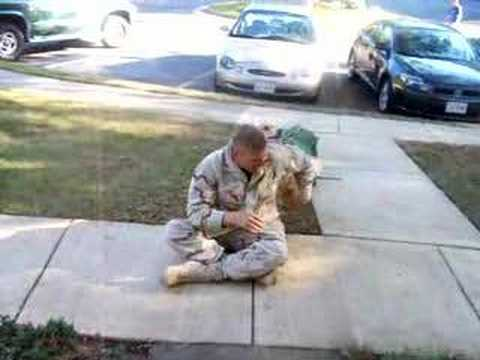 Seeing My Dog The Day I Got Back From Afghanistan video