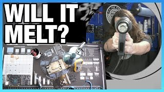 Torture Testing Our Own Product - Heatgun & Soldering Iron vs. Mat
