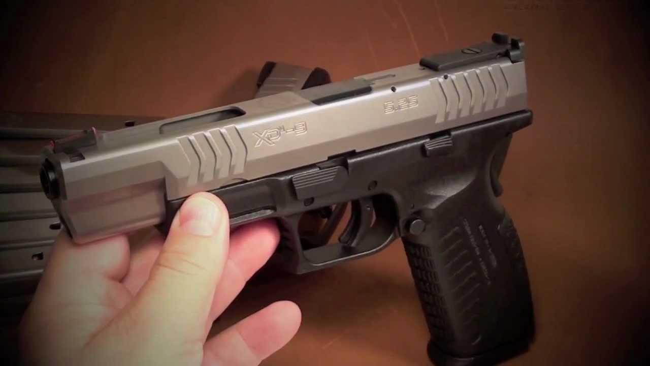 Xdm 9mm Bitone 5.25 Springfield Xdm 5.25