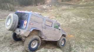 Hummer H2 - test new Tires Maxxis Trepador