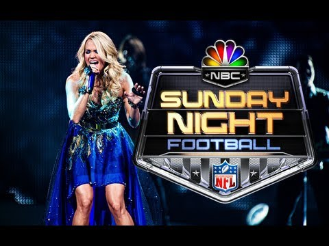 Carrie Underwood's Sunday Night Football Song video