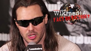 Andrew W.K. - Wikipedia: Fact or Fiction?