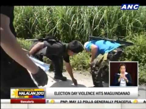 Election day violence hits Maguindanao