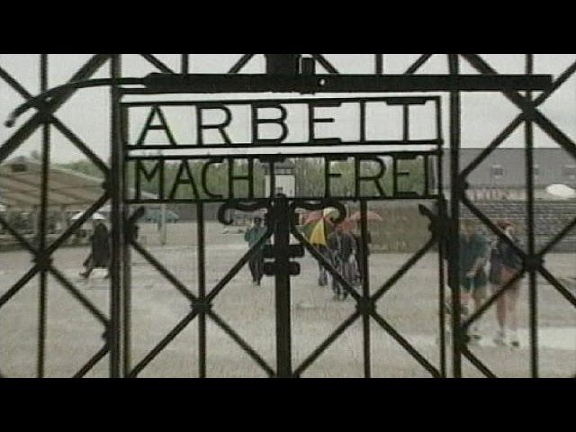 Dachau sign stolen