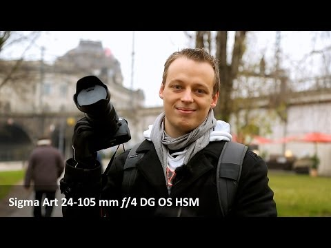 Sigma A 24-105mm F4 DG OS HSM -