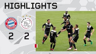 Highlights Bayern München O19 - Ajax O19 (Youth League)