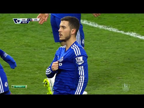 Eden Hazard vs Stoke (Home) 14-15 HD 720p By EdenHazard10i