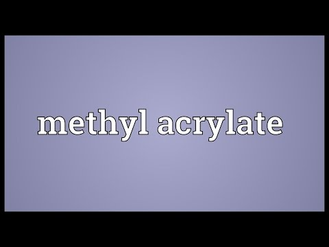 Header of acrylate