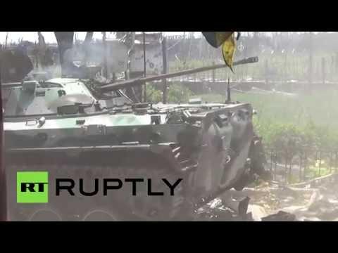 RAW: Clashes between DNR forces & Ukraine govt troops intensifies despite ceasefire