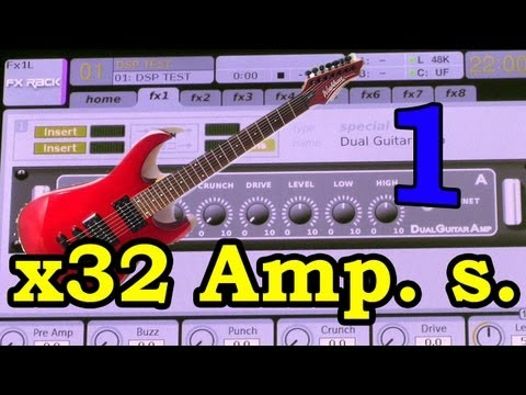 Behringer X32 Review (13) Guitar Effects