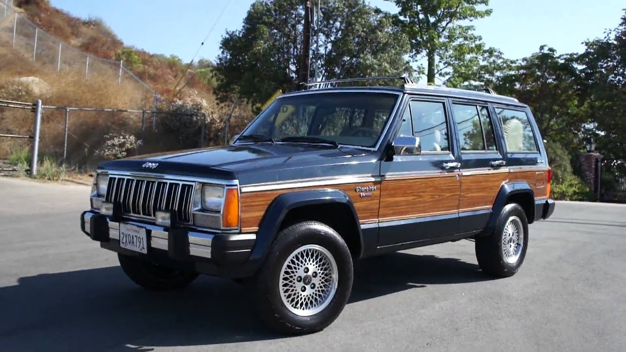1991 Jeep Grand Wagoner Cherokee Woodie Rare 1 Owner 63k Orig Mile Youtube