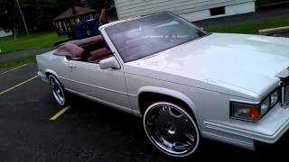 DROPTOP CADILLAC oN Mustard n Mayo TIRE SURGEON