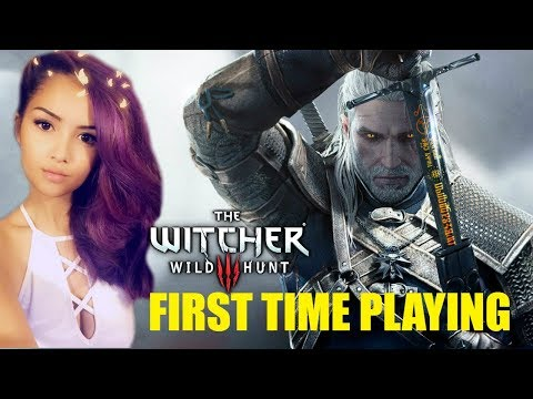 First Time Playing WITCHER 3 | Come Join Me!!! | Live with Rebelle
