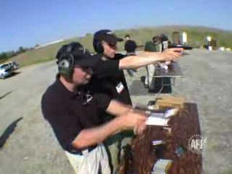 Todd Jarrett on pistol shooting.