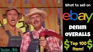 What to Sell on eBay - Overalls for Fashion, Farming, and Good Profit