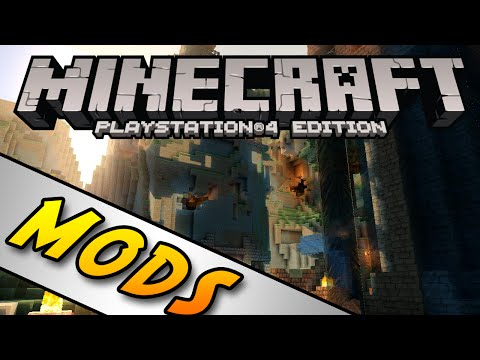 Minecraft PS4 & Xbox One Edition (Console) - MODS