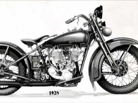 Danhawk Marseille : Harley de 1903 à 2002