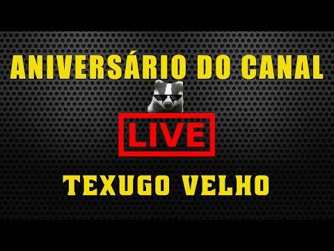LIVE DE 1 ANO DO CANAL TEXUGO VELHO
