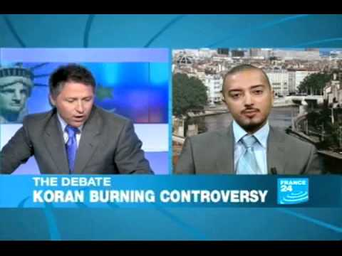 France 24: Ahmed Rehab and panel talk about Qur'an burning and Islamophobia in America
