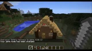 How to: Build an awesome house in the first minecraft day
