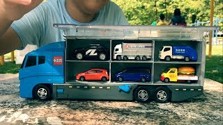 Tomica多美小汽車Truck Carry Case卡車存儲箱