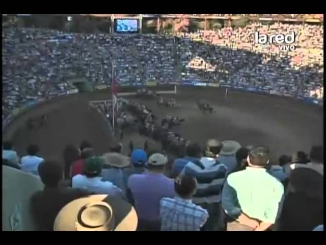 Rodeo Champion de Chile 2013 en La Red