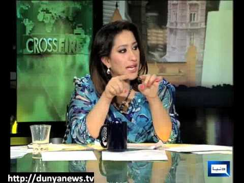 Dunya News-CROSS FIRE-15-08-2012