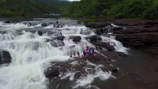TATAI Kohkong Waterfall from Drone
