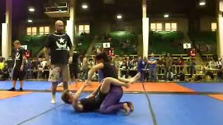 Zingano BJJ - Cathileen Fight to Win Nationals No-Gi Finals
